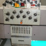 Machine voor borduurwerken